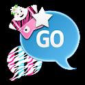 GO SMS - StarLightZebra icon