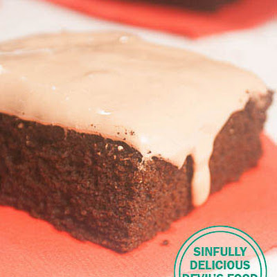 Sinfully Delicious Devil's Food Cake