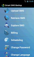 Screenshot of Smart SMS Backup