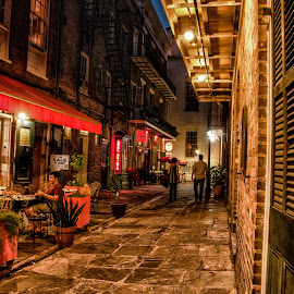 French Quarter Night by Steve Smith - City,  Street & Park  Historic Districts