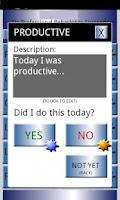 Screenshot of Productive Daily Habits