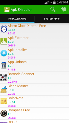 Apk Extractor by Braveheart