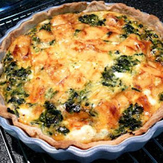 Quick & Easy Spinach Quiche