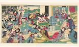 RIJKS: Utagawa Yoshiiku, Tsujiokaya Bunsuke: print 1875