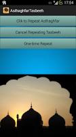 Screenshot of Asthaghfar Tasbee