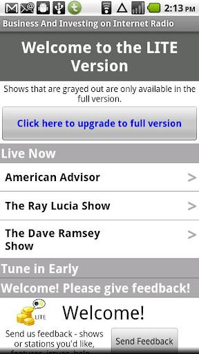 玩免費音樂APP|下載Business Radio Shows lite app不用錢|硬是要APP