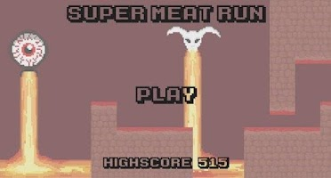 Screenshot of Super Meat Run