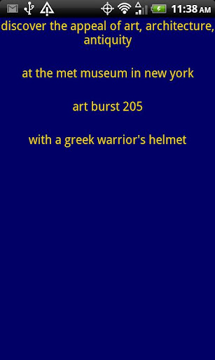 appeal of art at MMA in NY 325