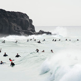 busy day at bar by Cam Neale - Sports & Fitness Surfing