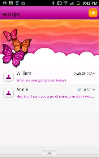GO SMS - Dreamy Sky