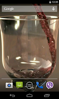 Screenshot of Glass of Wine Video LWP