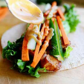 Thai Chicken Wraps