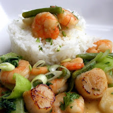 Thai Shrimp and Spinach Curry