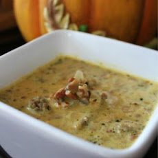 Low Carb Pumpkin Sausage Soup