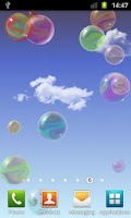 Screenshot of Nicky Bubbles Live Wallpaper
