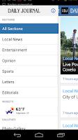 Screenshot of Ukiah Daily Journal