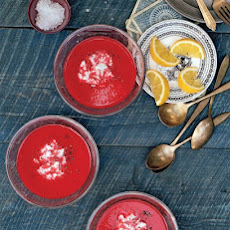 Sweet Red Pepper-Beet Soup