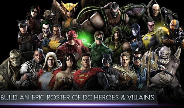 Injustice: Gods Among Us apk screenshot