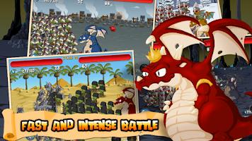 Screenshot of A Little War (OkGame)
