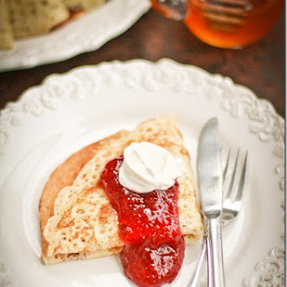 Russian Yeast Blinis'