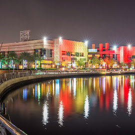 Dubai Festival City by Andy Arciga - City,  Street & Park  City Parks