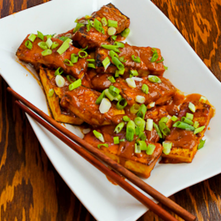Spicy Vegan Peanut Butter Tofu With Sriracha Recipes — Dishmaps