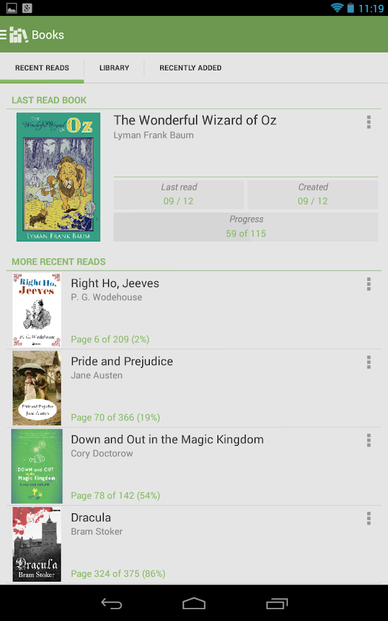 Aldiko Book Reader Premium Screenshot 11