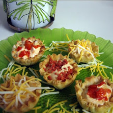 Tiny Texas Taco Tarts