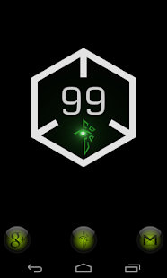 Ingress Battery Widget - screenshot