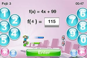 Screenshot of SkoleMat Level 7 gratis