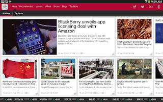 Screenshot of BNN GO