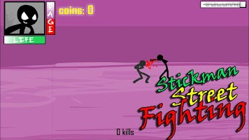 Screenshot of Stickman Street Fighting
