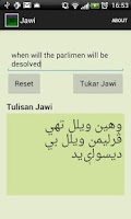 Screenshot of Rumi To Jawi