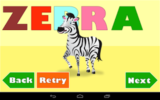 Screenshot of Kids Spelling Games - FREE