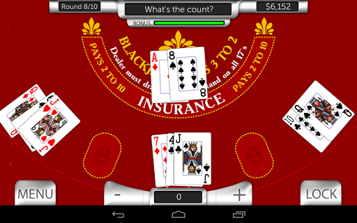 Card Counter - screenshot