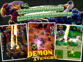 Screenshot of Demon Avengers TD