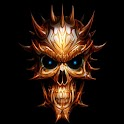 3D Skull 010 icon