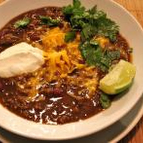 Hearty Tailgate Chili