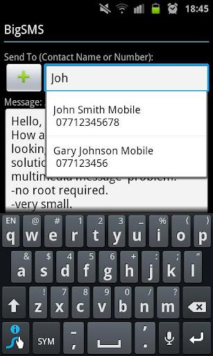 BigSMS Send Long SMS