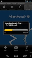 Screenshot of PPP - Allina Health