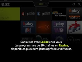 Screenshot of LaBox TV
