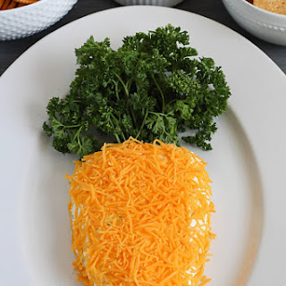 Easter Carrot Cheese Ball