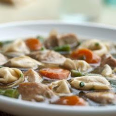 Chicken and Tortellini Stew