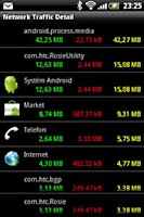 Screenshot of Network Traffic Detail
