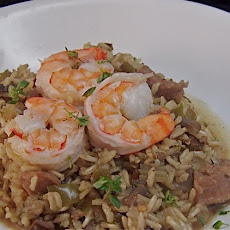 Dirty Rice With Sausage and Shrimp