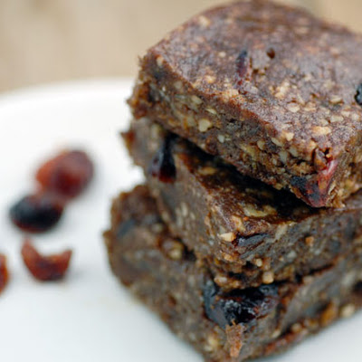 Chocolate Cranberry Power Bars