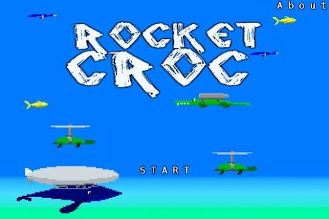 Rocket Croc: Free Version - screenshot