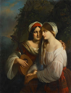 RIJKS: Moritz Calisch: painting 1851