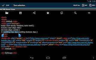 Screenshot of Ark Web Source Viewer