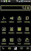 Screenshot of LightWorks Yellow ADW Theme